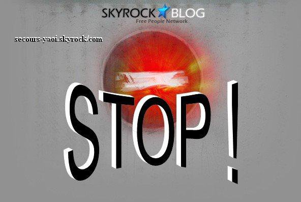Secours-Yaoi  |   Contre la dsactivation des skyblogs !
